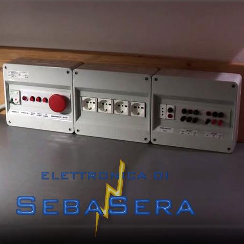 Schema Elettrico Quadro Casa : Quadro elettrico per banco da laboratorio u sebastiano serafini